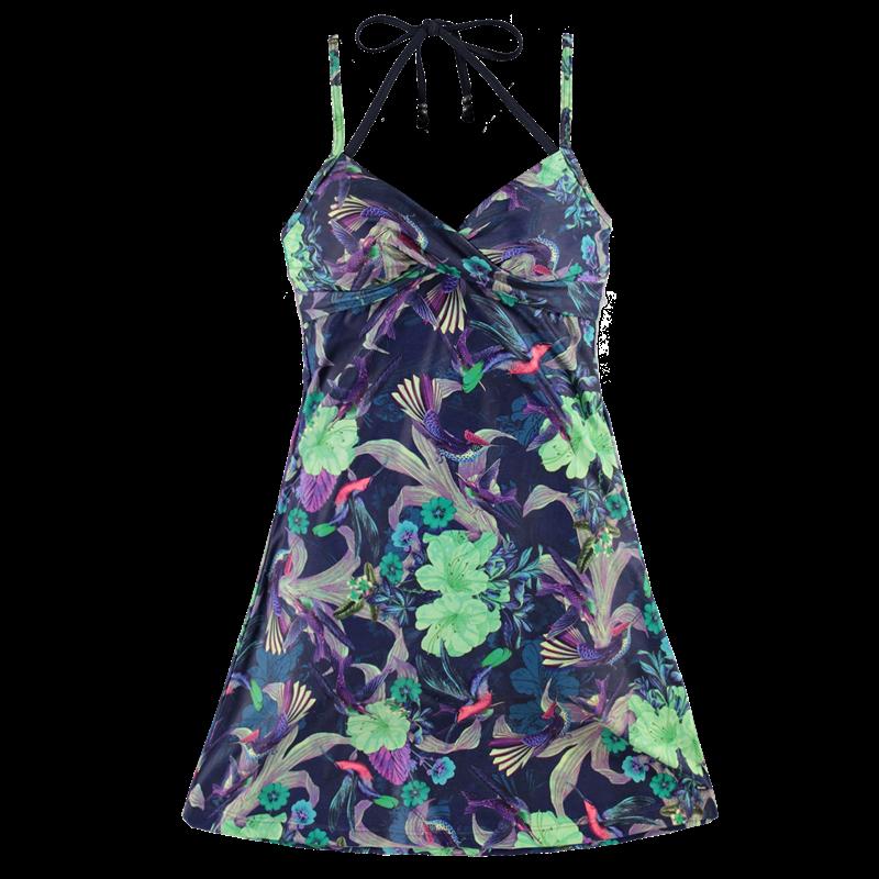 Brunotti Idida AO-109 Women Dress (Blauw) - DAMES JURKEN & ROKKEN - Brunotti online shop