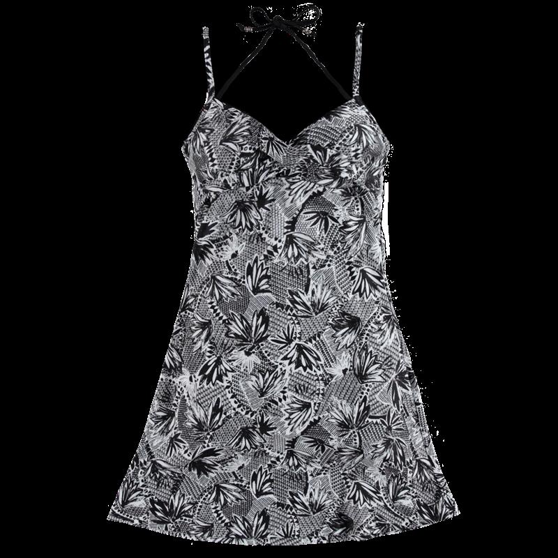 Brunotti Idida AO-112 Women Dress (Zwart) - DAMES JURKEN & ROKKEN - Brunotti online shop