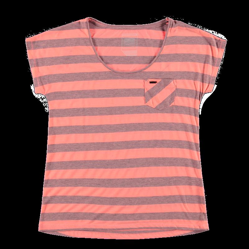 Brunotti Barbusto Women T-shirt (Roze) - DAMES T-SHIRTS & TOPJES - Brunotti online shop