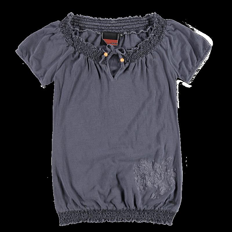 Brunotti Burlesco Women T-shirt (Blauw) - DAMES T-SHIRTS & TOPJES - Brunotti online shop