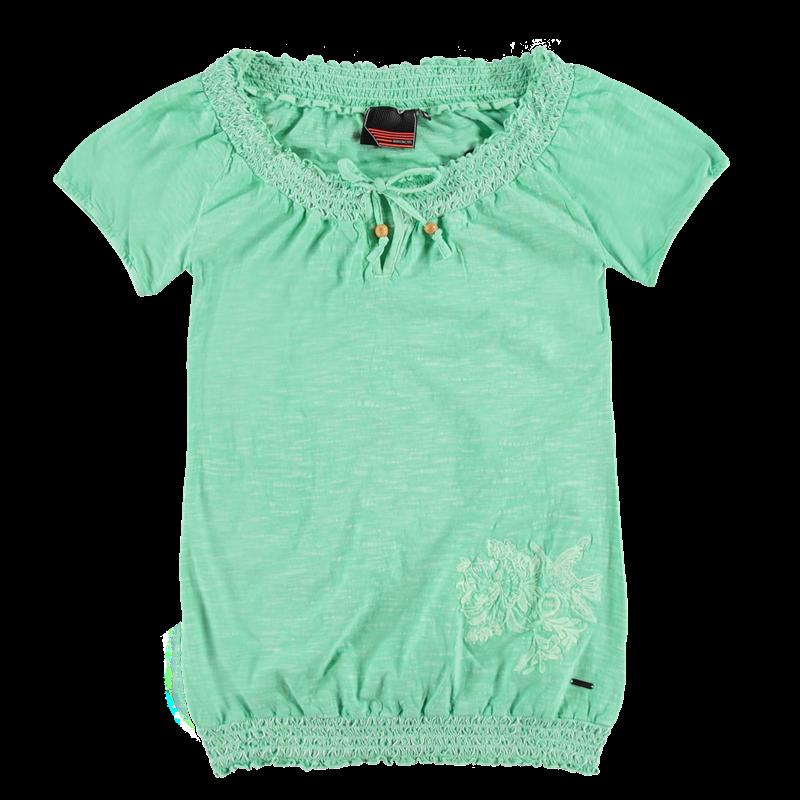 Brunotti Burlesco Women T-shirt (Groen) - DAMES T-SHIRTS & TOPJES - Brunotti online shop