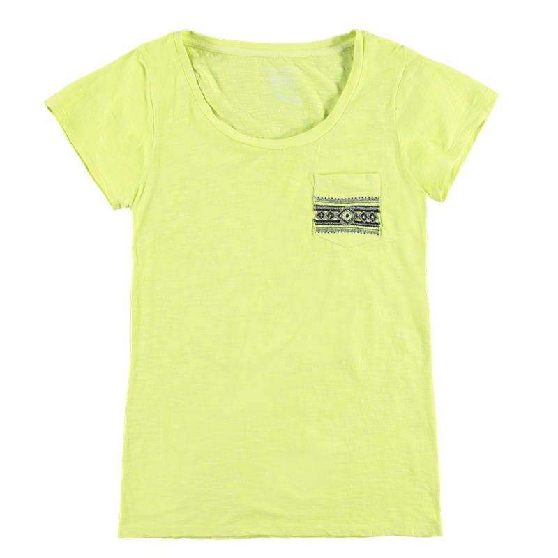 Brunotti Badigana Women T-shirt (Geel) - DAMES T-SHIRTS & TOPJES - Brunotti online shop