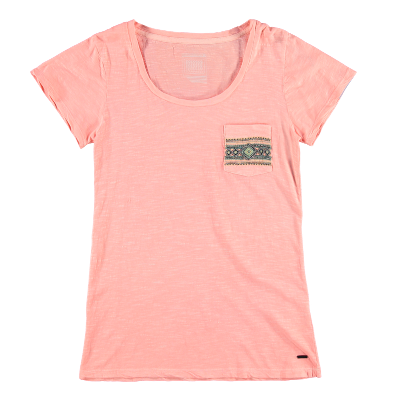 Brunotti Badigana Women T-shirt (Roze) - DAMES T-SHIRTS & TOPJES - Brunotti online shop