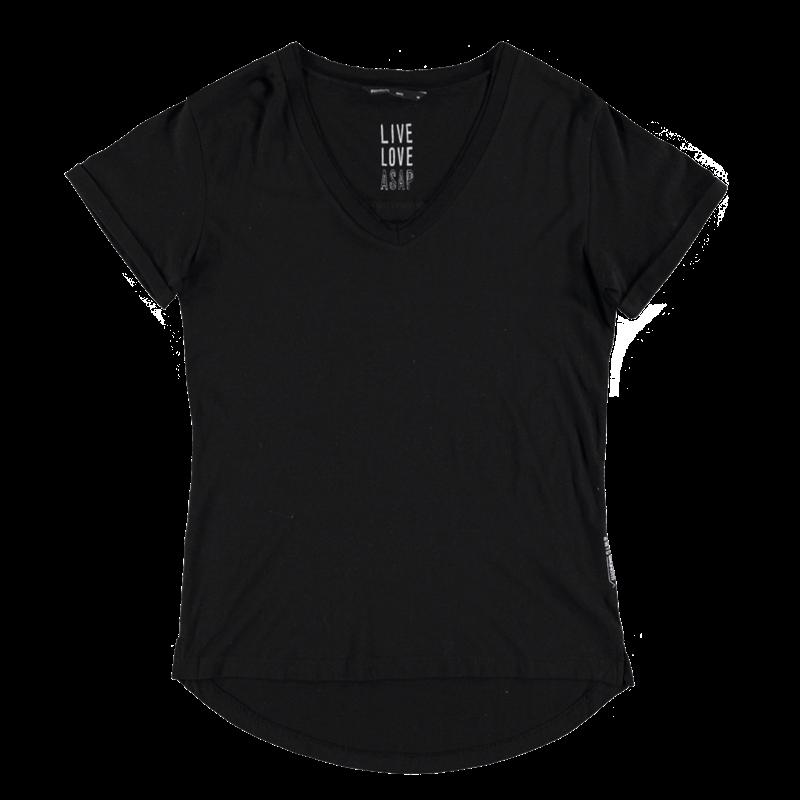 Brunotti Bonera Women T-shirt (Zwart) - DAMES T-SHIRTS & TOPJES - Brunotti online shop