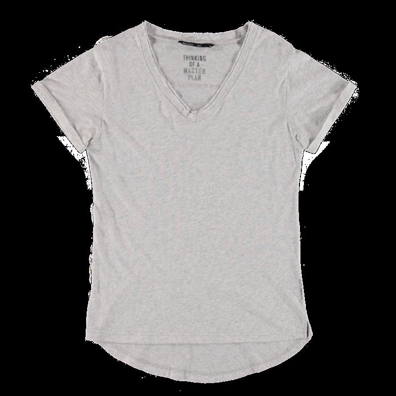 Brunotti Bonera Women T-shirt (Grijs) - DAMES T-SHIRTS & TOPJES - Brunotti online shop