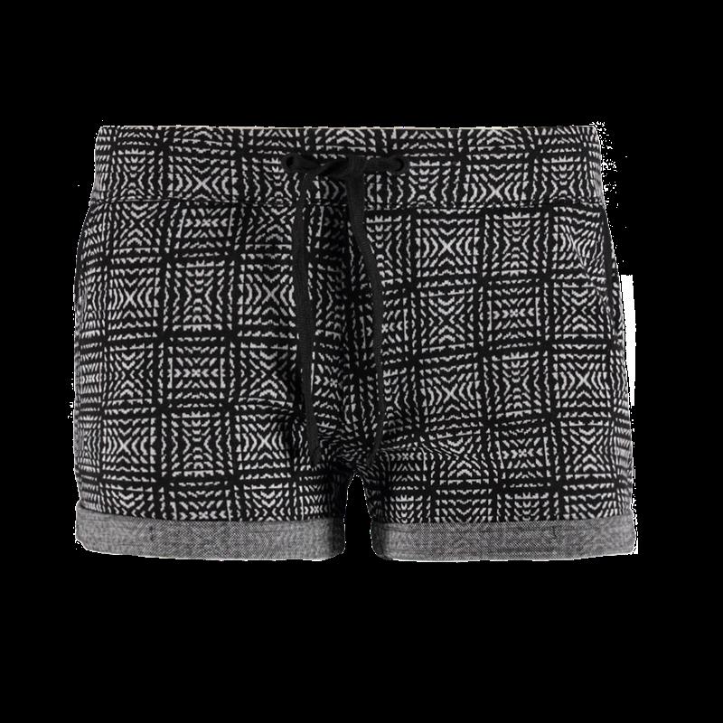 Brunotti Goffi Women Sweatshort (Zwart) - DAMES SHORTS - Brunotti online shop