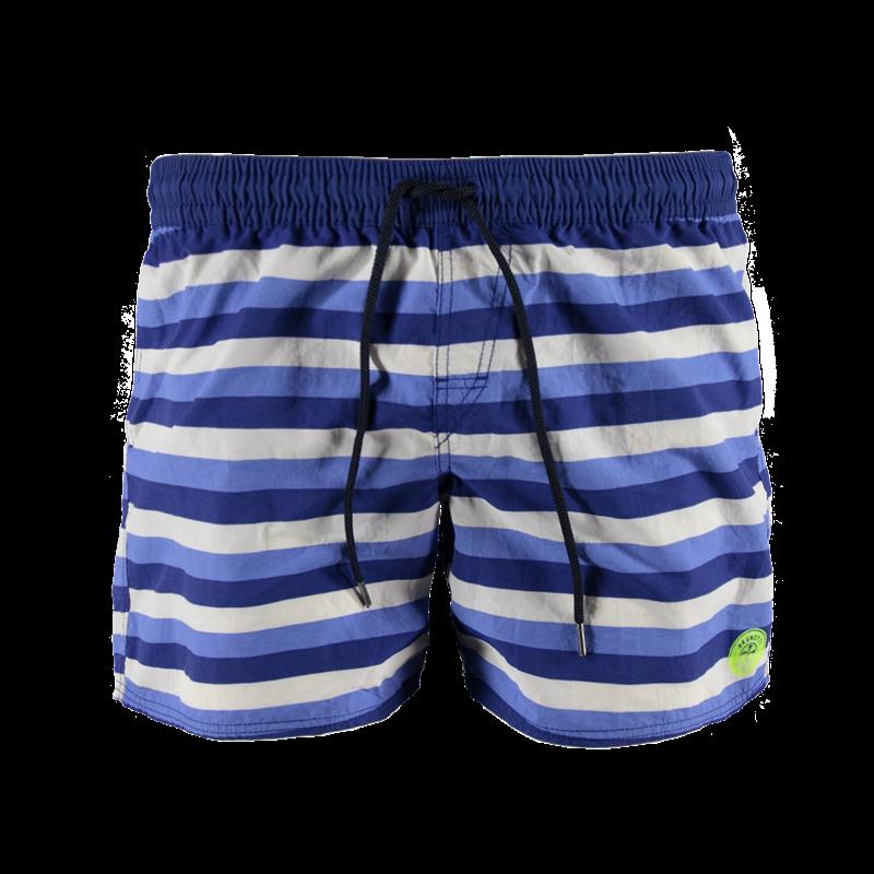 Brunotti Celcano JR Boys Short (Blauw) - JONGENS ZWEMSHORTS - Brunotti online shop