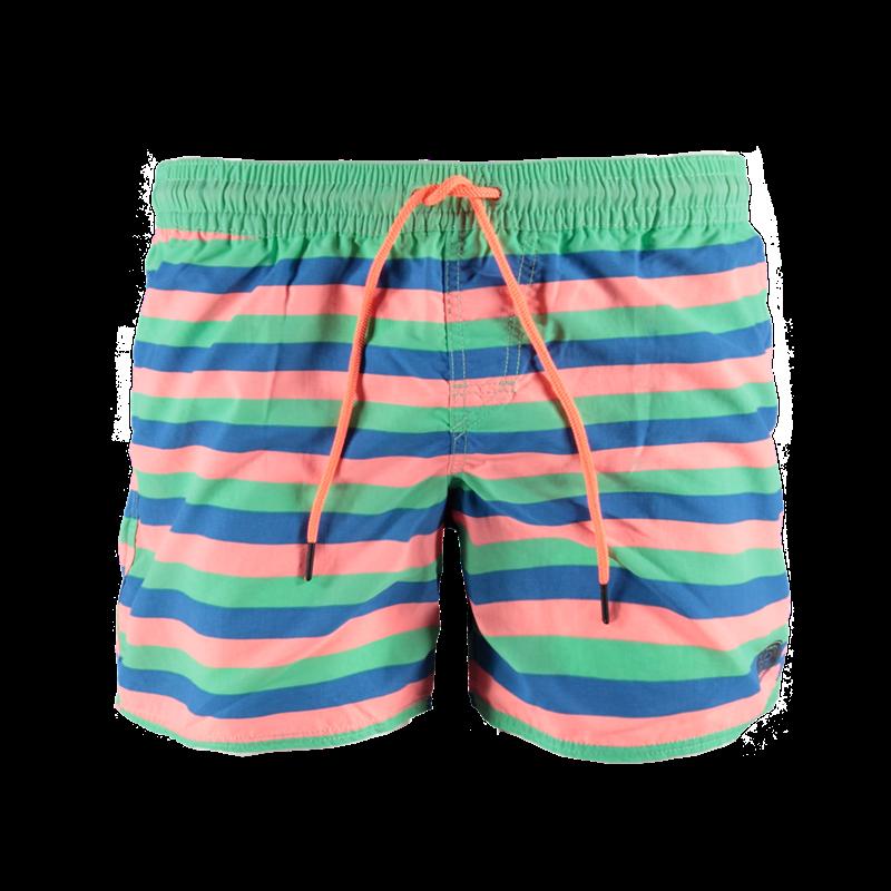 Brunotti Celcano JR Boys Short (Groen) - JONGENS ZWEMSHORTS - Brunotti online shop