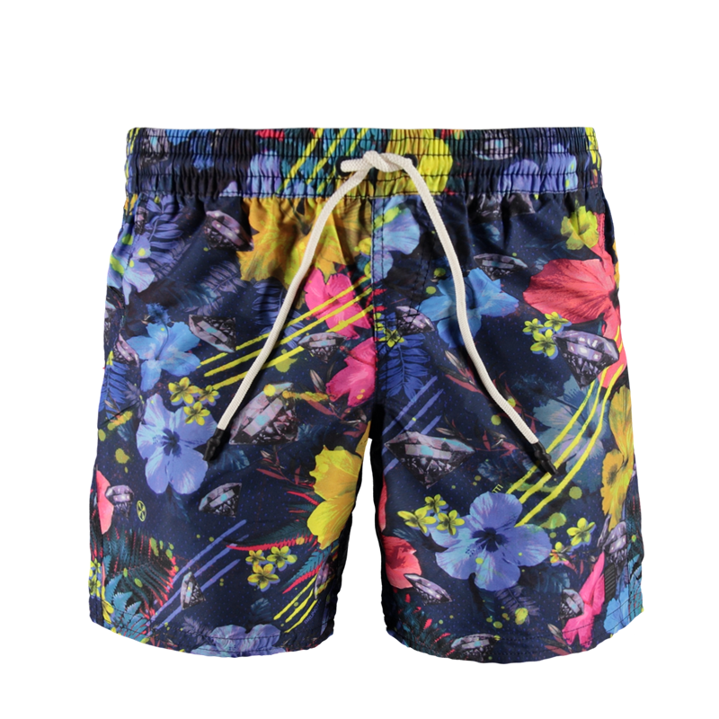 Brunotti Consola JR Boys Short (Blauw) - JONGENS ZWEMSHORTS - Brunotti online shop