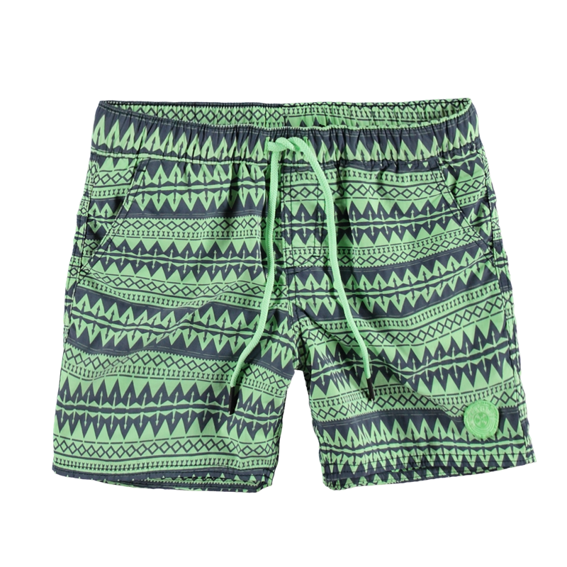Brunotti Coldio JR Boys Short (Groen) - JONGENS ZWEMSHORTS - Brunotti online shop