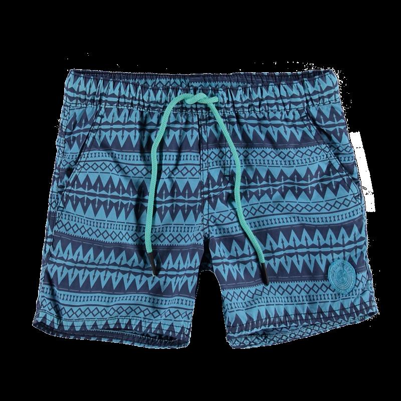Brunotti Coldio JR Boys Short (Blauw) - JONGENS ZWEMSHORTS - Brunotti online shop