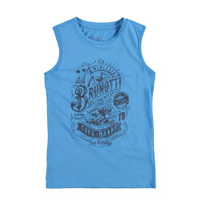 Brunotti Arabes JR Boys Sleeveless. Beschikbaar in: 140,152,164,176 (161235000-0452)