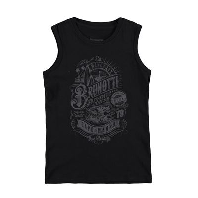 Brunotti Arabes JR Boys Sleeveless. Beschikbaar in: 116,128,140,152,164 (161235000-099)
