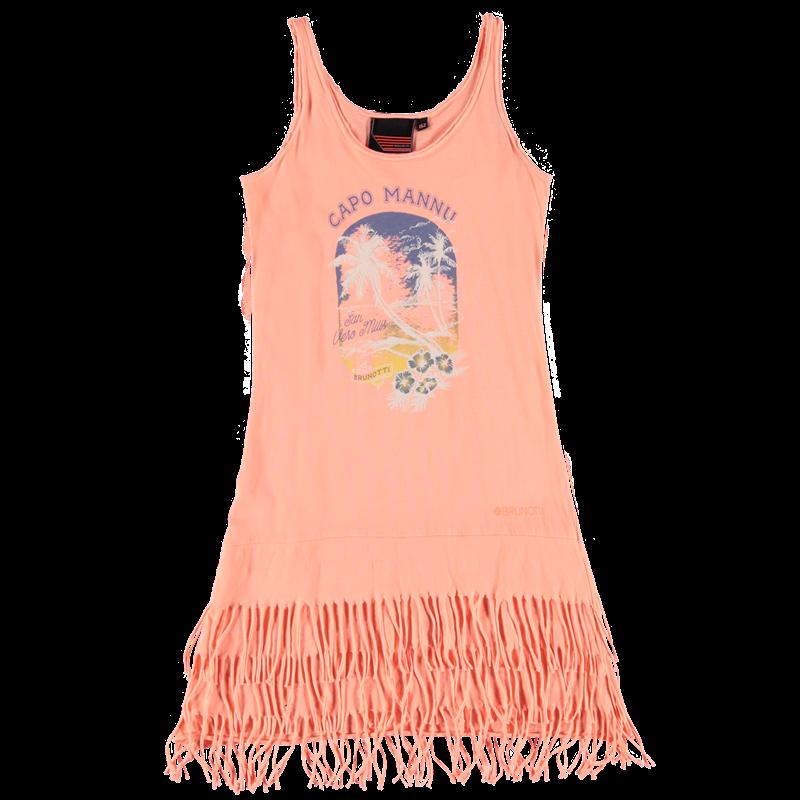Brunotti Ijarna JR Girls Dress (Roze) - MEISJES JURKEN & ROKKEN - Brunotti online shop