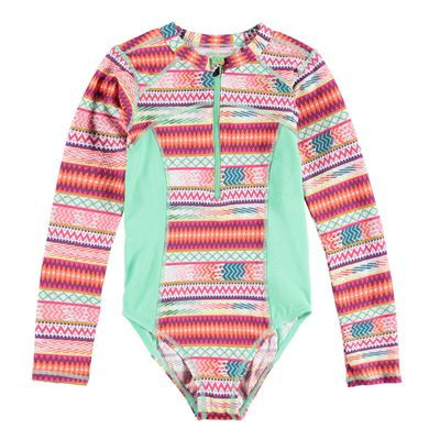Brunotti Saltie JR Girls Swimsuit. Beschikbaar in 140,152,164,176 (161246300-0625)