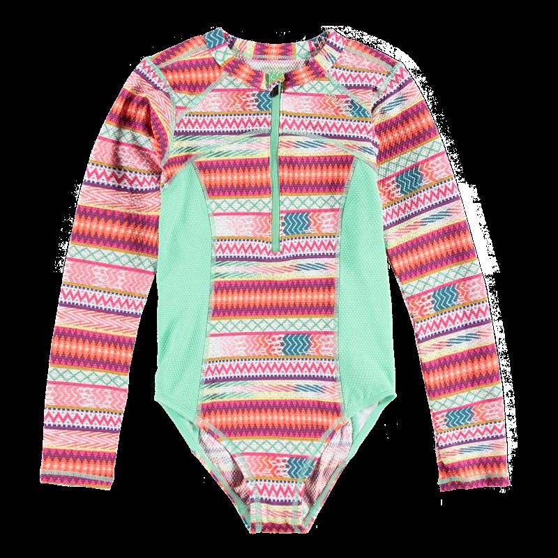 Brunotti Saltie JR Girls Swimsuit (Roze) - MEISJES BADPAKKEN - Brunotti online shop