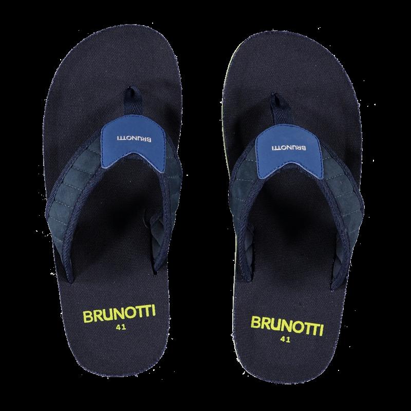 Brunotti Ernesto Men Slippers (Blauw) - HEREN SLIPPERS - Brunotti online shop