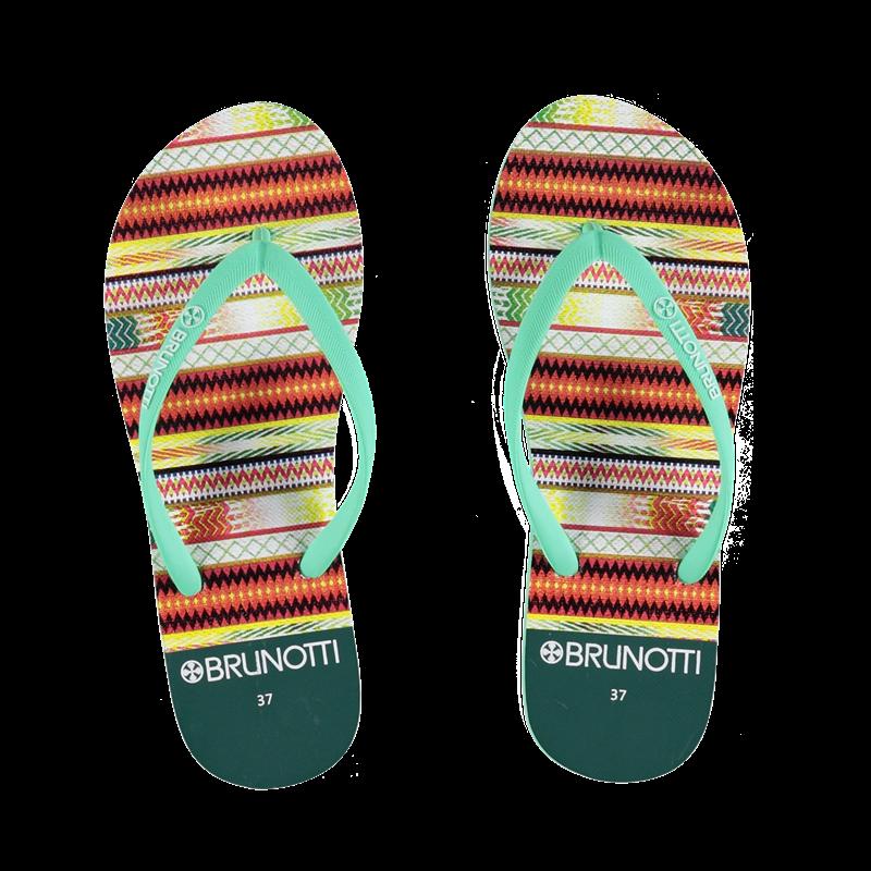 Brunotti Bon Women Slippers (Groen) - DAMES SLIPPERS - Brunotti online shop