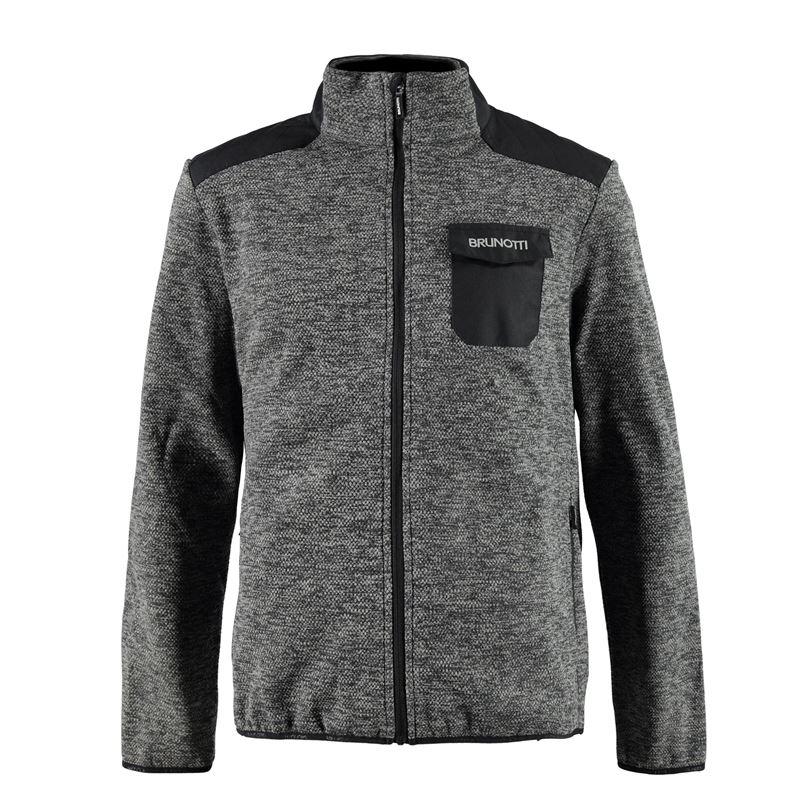 Brunotti Telletri Men Fleece (Grey) - MEN FLEECES - Brunotti online shop