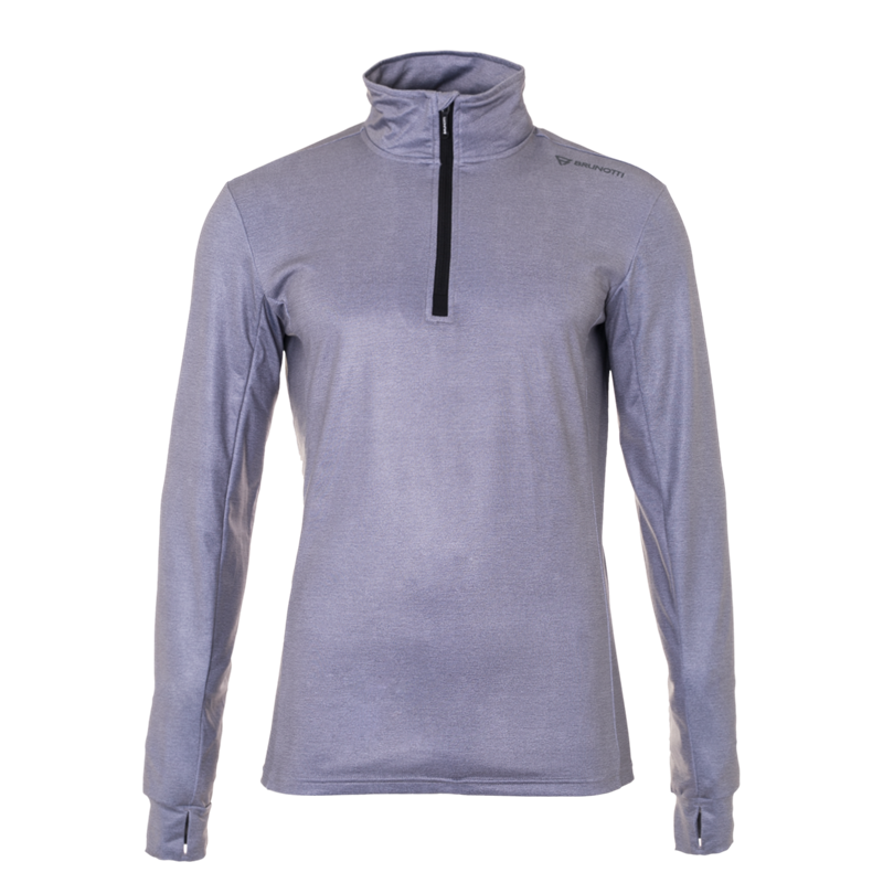 Brunotti Terni Men Fleece (Grey) - MEN FLEECES - Brunotti online shop