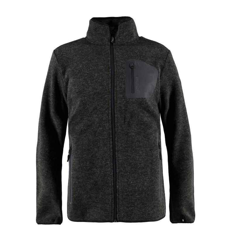 Brunotti Teramo Men Fleece (Grau) - HERREN FLEECES - Brunotti online shop
