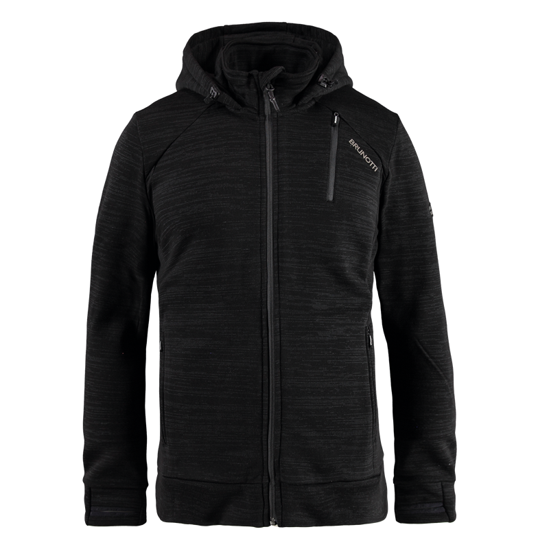 Brunotti Tevero Men Fleece (Black) - MEN FLEECES - Brunotti online shop