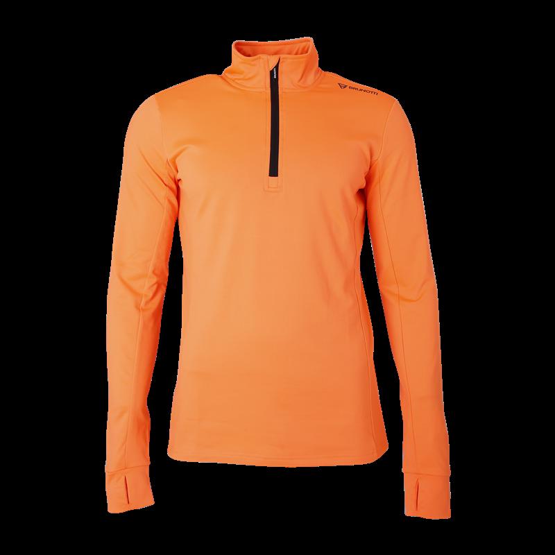 Brunotti Terni Men Fleece (Orange) - MEN FLEECES - Brunotti online shop