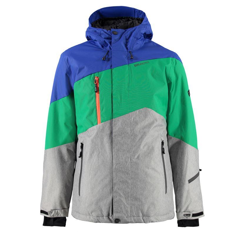 Brunotti Modeno Men Jacket (Groen) - HEREN JASSEN - Brunotti online shop