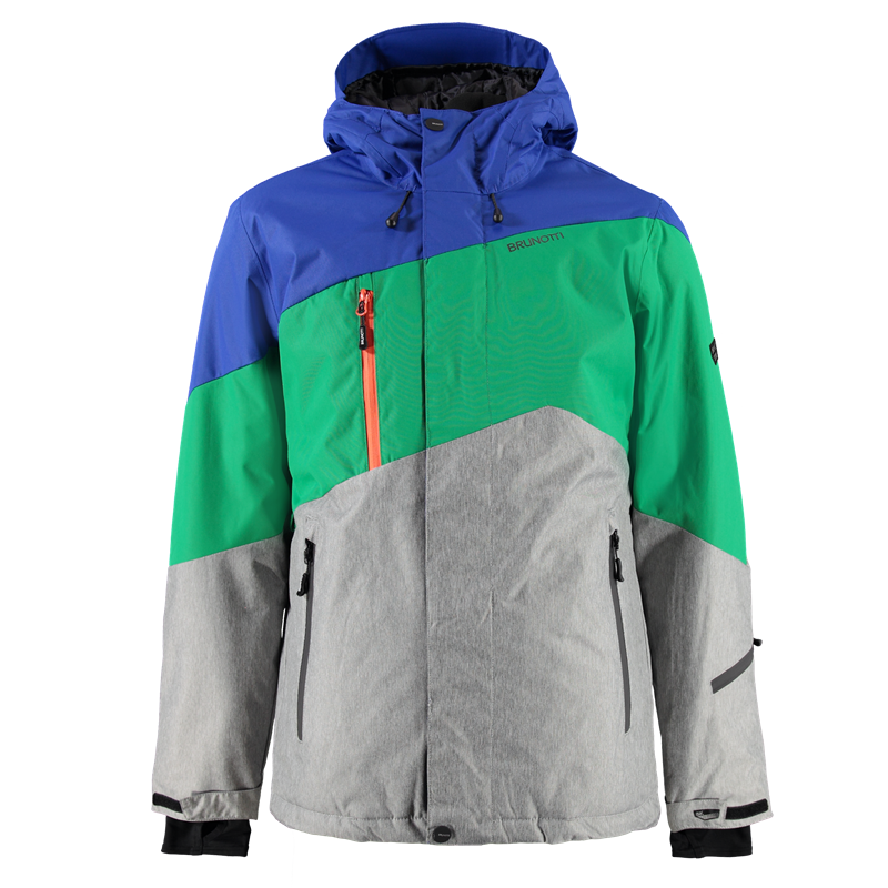Brunotti Modeno Men Jacket (Green) - MEN JACKETS - Brunotti online shop