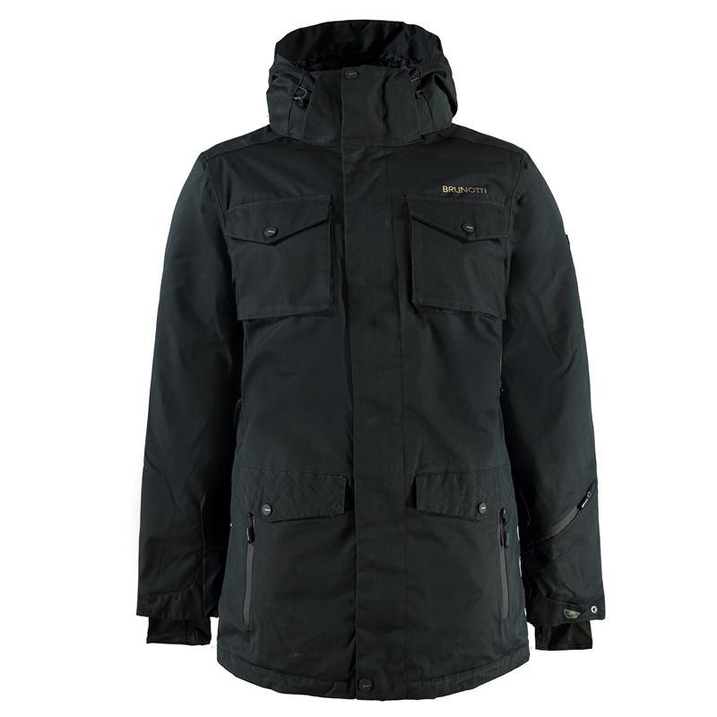 Brunotti Mottola Men Jacket (Zwart) - HEREN JASSEN - Brunotti online shop