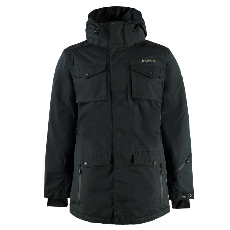 Brunotti Mottola Men Jacket (Black) - MEN JACKETS - Brunotti online shop