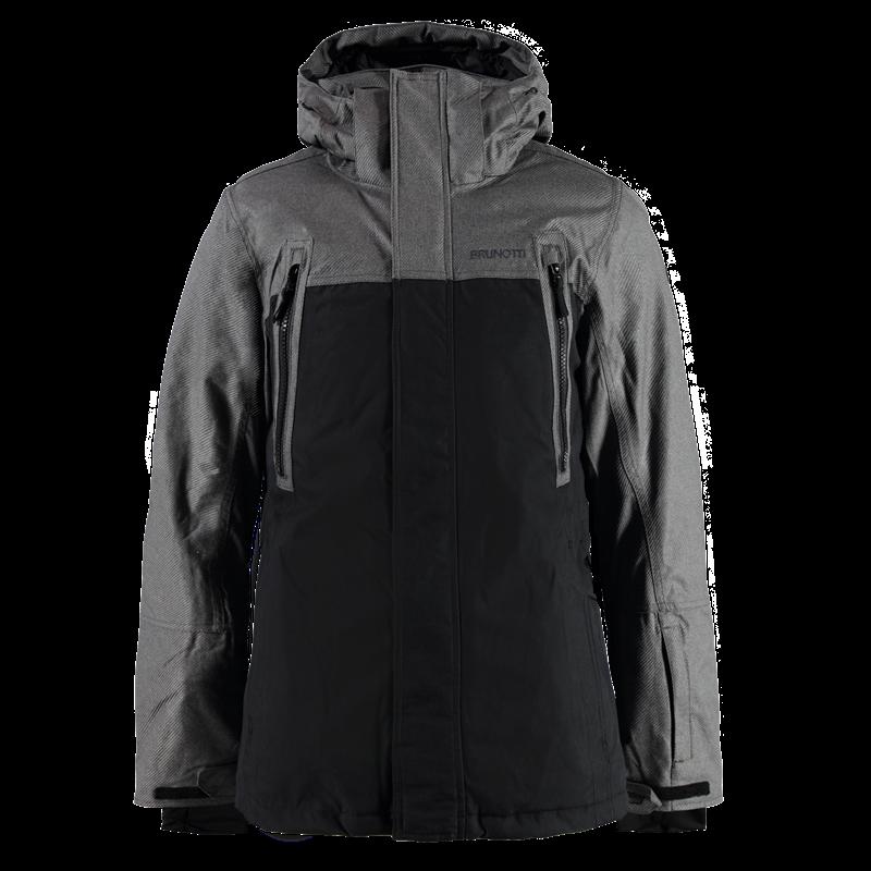 Brunotti Malachi Men Jacket (Black) - MEN JACKETS - Brunotti online shop