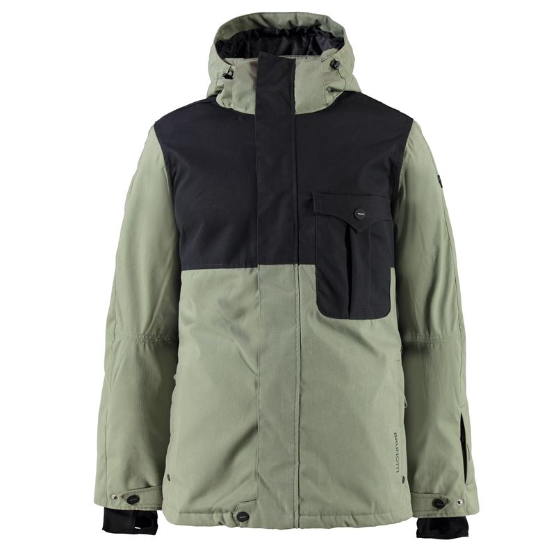 Brunotti Macalaster Men Jacket (Green) - MEN JACKETS - Brunotti online shop