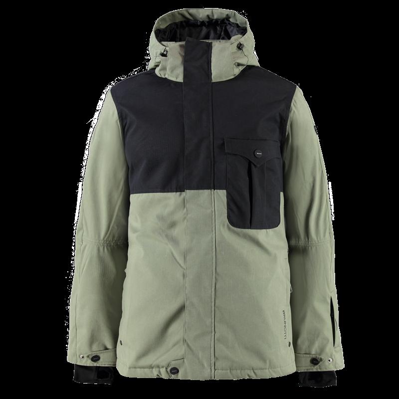Brunotti Macalaster Men Jacket (Green) - MEN JACKETS - Brunotti online shop
