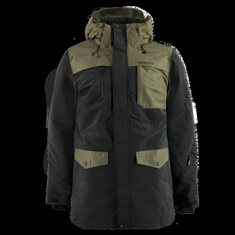 Brunotti Mazara Men Jacket (Black) - MEN JACKETS - Brunotti online shop