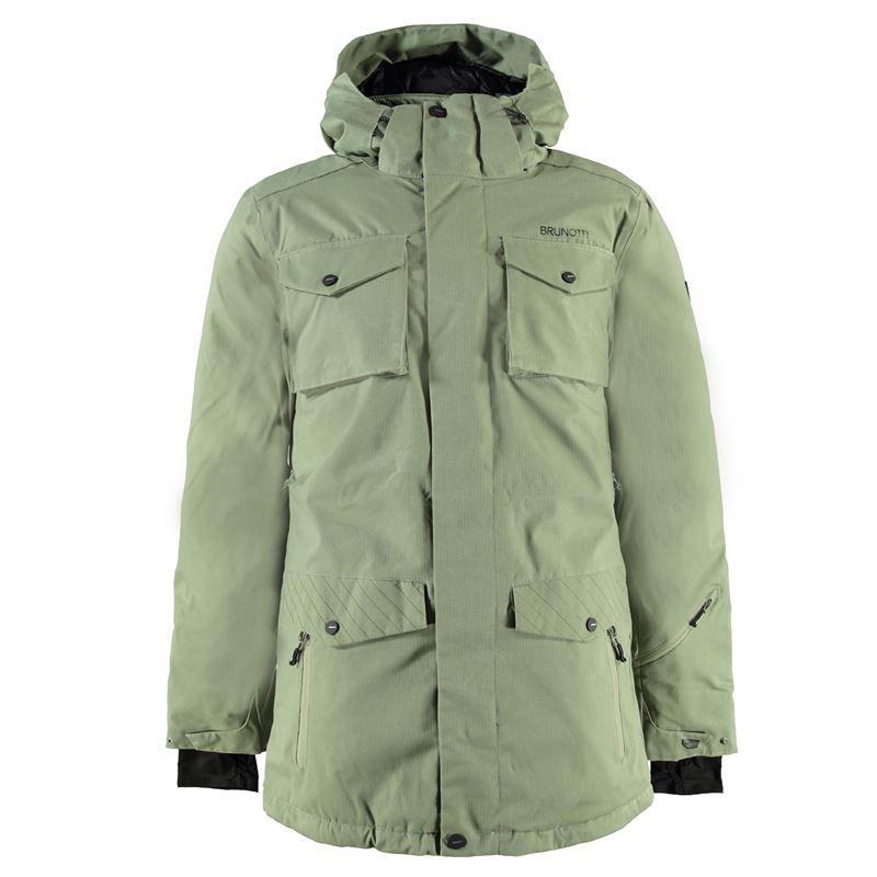 Brunotti Mottola Men Jacket (Groen) - HEREN JASSEN - Brunotti online shop