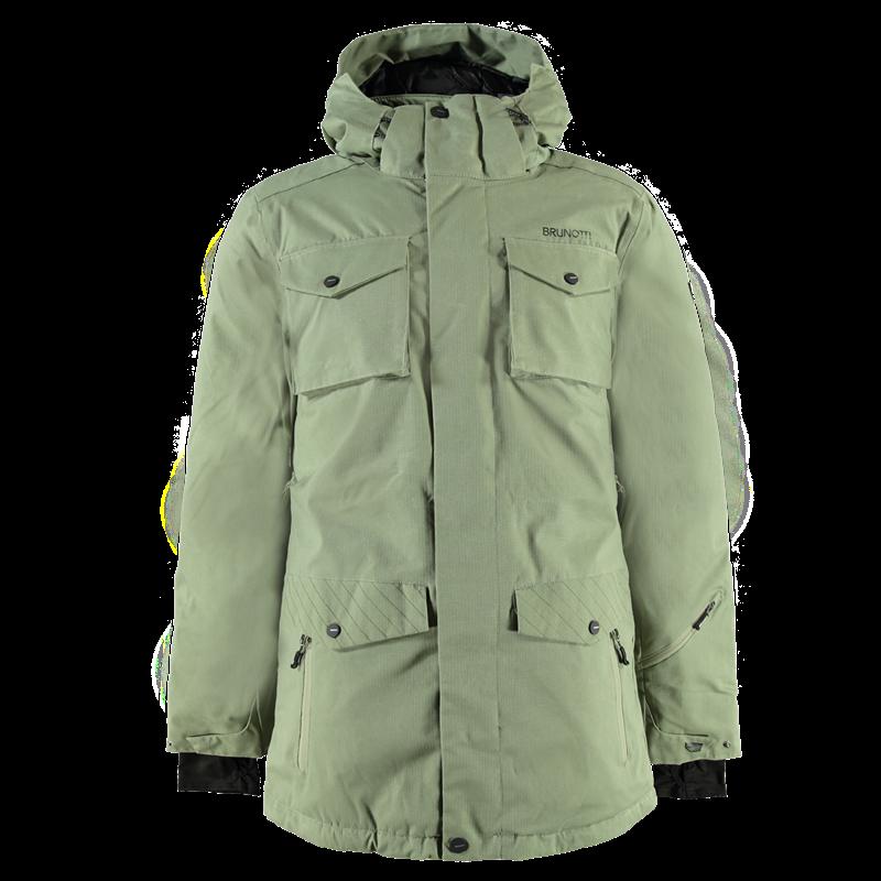 Brunotti Mottola Men Jacket (Green) - MEN JACKETS - Brunotti online shop