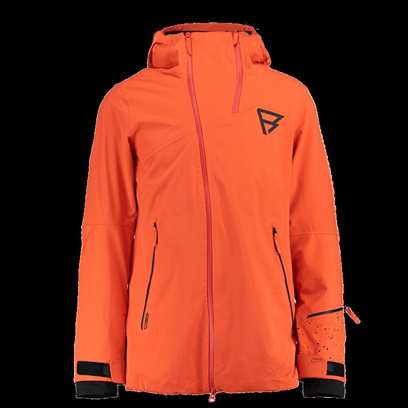 Brunotti Mavelli Men Jacket (Orange) - MEN JACKETS - Brunotti online shop