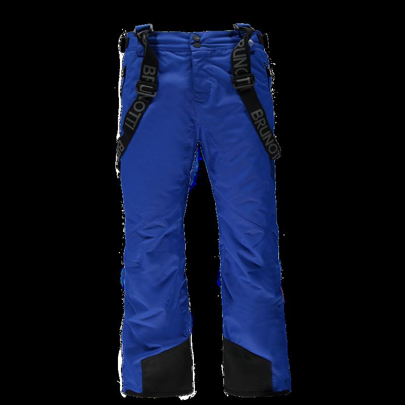 Brunotti Damiro Canvas Men Snowpants (Blue) - MEN SNOW PANTS - Brunotti online shop