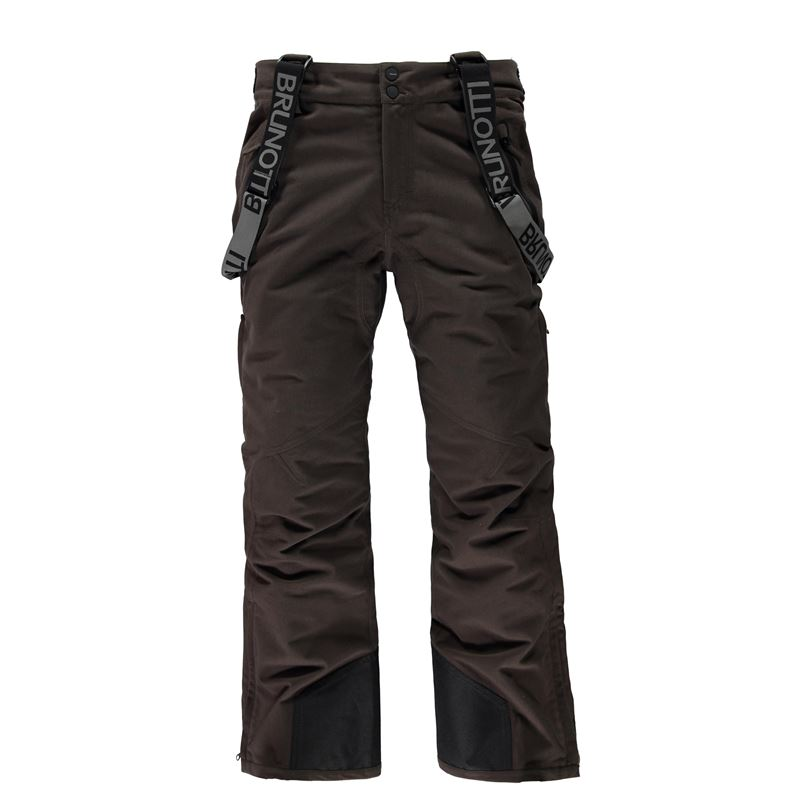 Brunotti Damiro Corduroy Men Snowpants (Brown) - MEN SNOW PANTS - Brunotti online shop