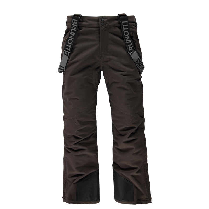 Brunotti Damiro Corduroy Men Snowpants (Brown) - MEN SNOW PANTS - Brunotti online shop