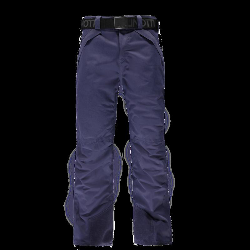 Brunotti Divorno Men Snowpants (Blue) - MEN SNOW PANTS - Brunotti online shop