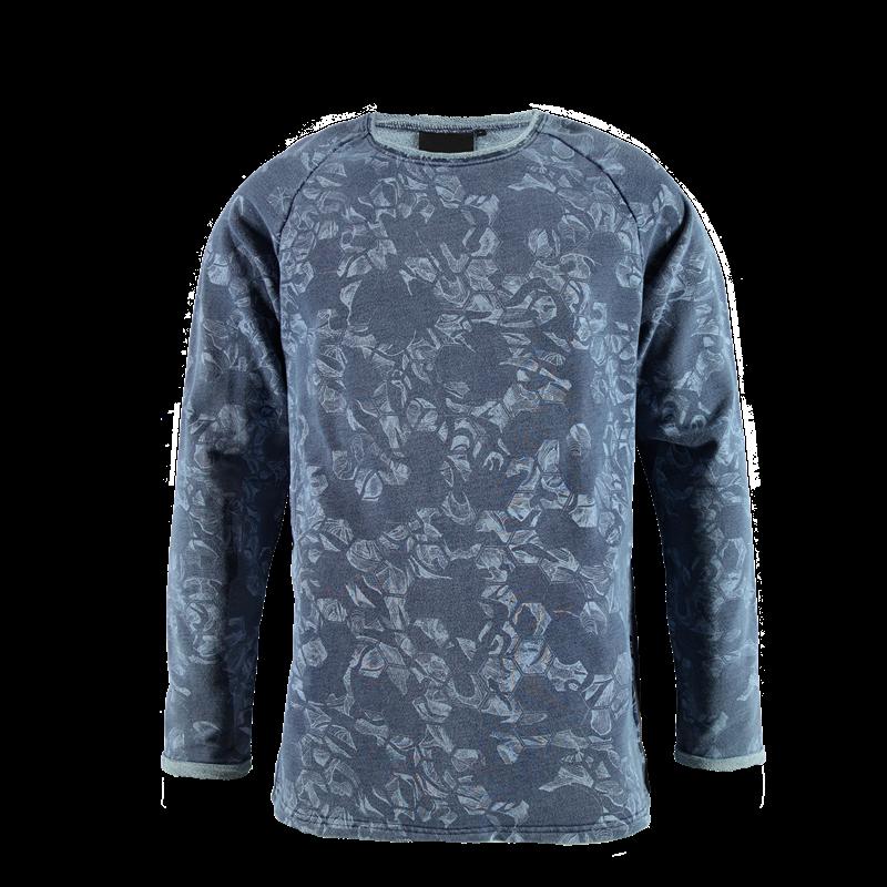 Brunotti Nesaro Men Sweat (Blue) - MEN JUMPERS & CARDIGANS - Brunotti online shop