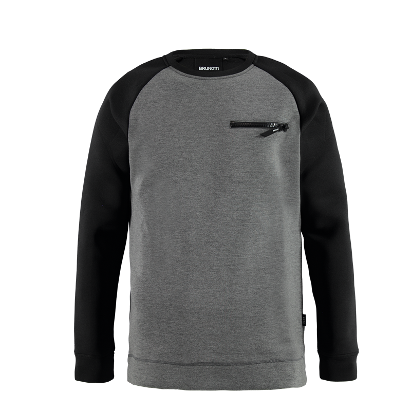 Brunotti Nerguio Men Sweat (Black) - MEN JUMPERS & CARDIGANS - Brunotti online shop