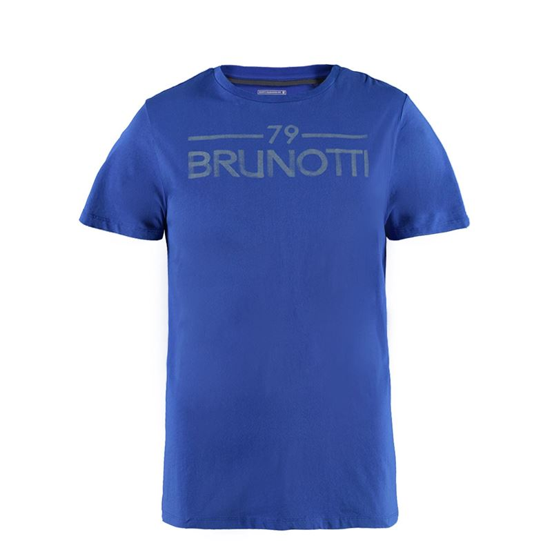 Brunotti Attivo Men T-shirt (Blue) - MEN T-SHIRTS & POLOS - Brunotti online shop