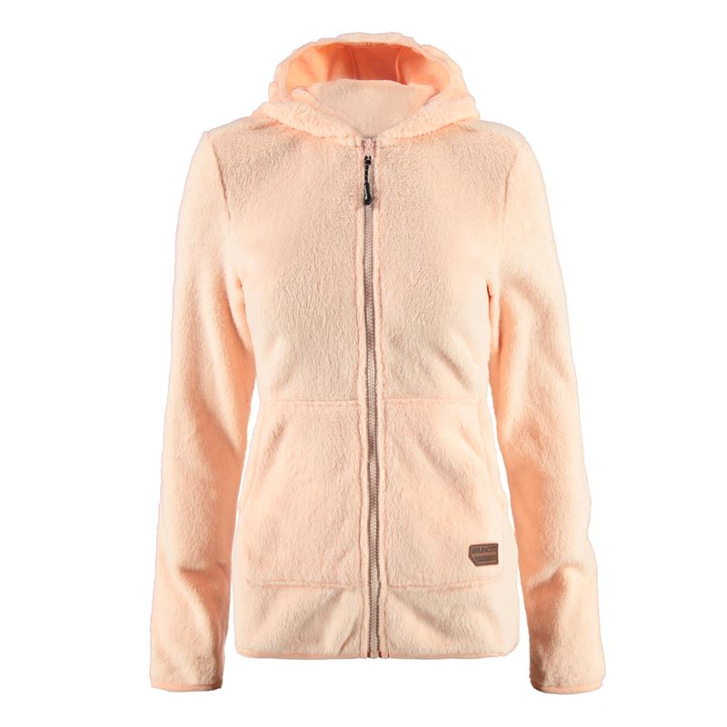 Brunotti Ynverso Women Fleece (Roze) - DAMES TRUIEN & VESTEN - Brunotti online shop