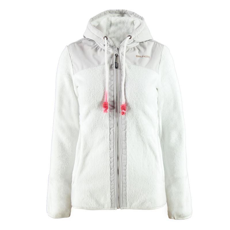 Brunotti Yonda Women Fleece (Weiß) - DAMEN FLEECES - Brunotti online shop