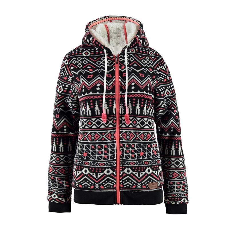 Brunotti Ysca Women Fleece (Black) - WOMEN JUMPERS & CARDIGANS - Brunotti online shop