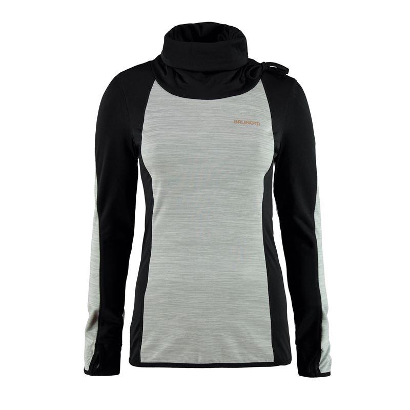 Brunotti Yena Women Fleece (Grijs) - DAMES FLEECES - Brunotti online shop