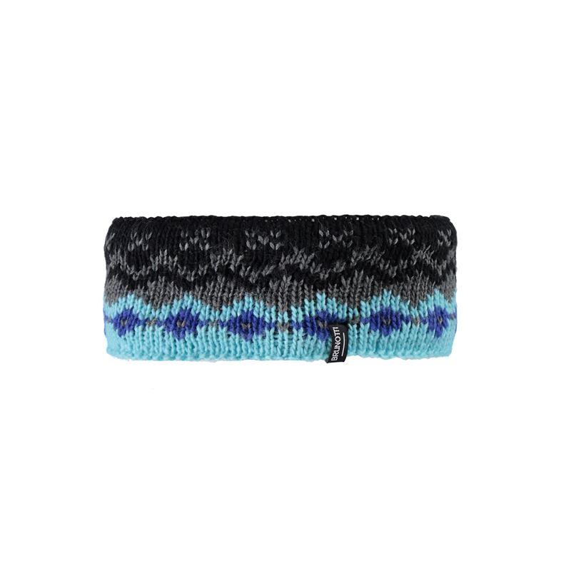 Brunotti Kubiena Headband (Zwart) - ACCESSOIRES BEANIES - Brunotti online shop